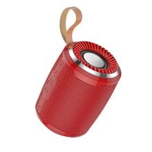 Reproduktor Bluetooth HOCO Cool Sport - sportovní - poutko - červený