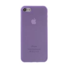 Kryt / obal pro Apple iPhone 7 / 8 / SE (2020) - ochrana čočky - ultratenký - plastový - matný - fialový