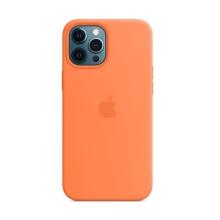 Originální kryt pro Apple iPhone 12 Pro Max - silikonový - kumkvátově oranžový