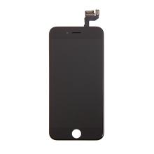 LCD panel + dotykové sklo (touch screen digitizér) pro Apple iPhone 6S - osazený černý - kvalita A+