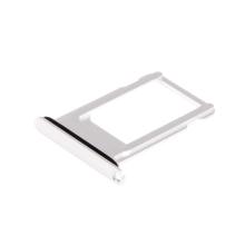 Rámeček / šuplík na Nano SIM pro Apple iPhone 8 - bílý (White) - kvalita A+