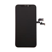 OLED panel + dotykové sklo (touch screen digitizér) pro Apple iPhone X - černý - kvalita A