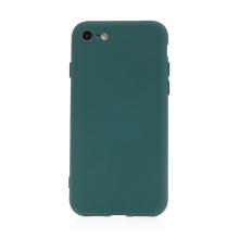 Kryt pro Apple iPhone 7 / 8 / SE (2020) - silikonový - tmavě zelený