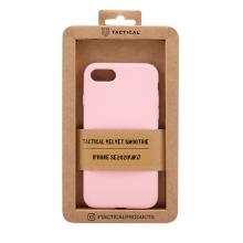 Kryt TACTICAL Velvet Smoothie pro Apple iPhone 7 / 8 / SE (2020) - příjemný na dotek - silikonový - růžový