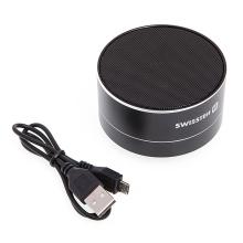 Reproduktor SWISSTEN Bluetooth 4.0 - slot na Micro SD / TF kartu - černý