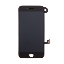 LCD panel + dotykové sklo (touch screen digitizér) pro Apple iPhone 8 - osazený černý - kvalita A
