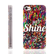 Plastový kryt pro Apple iPhone 4 / 4S - Just Shine
