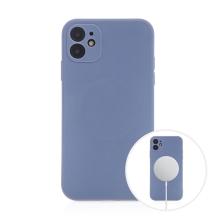 Kryt pro Apple iPhone 11 - MagSafe magnety - silikonový - levandulově modrý