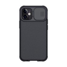 Kryt NILLKIN CamShield pro Apple iPhone 12 mini - MagSafe magnety + krytka kamery - černý