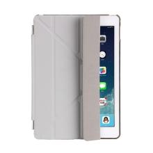 Pouzdro / kryt pro Apple iPad 9,7 (2017-2018) - odnímatelný Smart Cover - stojánek - plastové - šedé