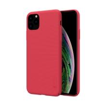 Kryt NILLKIN Super Frosted pro Apple iPhone 11 Pro Max - plastový - červený