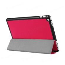 Pouzdro / kryt pro Apple iPad Pro 12,9 - integrovaný stojánek - umělá kůže - tmavě růžové