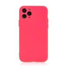Kryt pro Apple iPhone 11 Pro - příjemný na dotek - silikonový - růžový