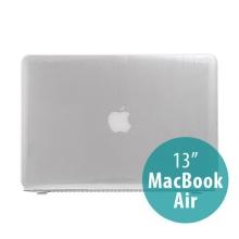 Tenký ochranný plastový obal pro Apple MacBook Air 13.3 - lesklý - průhledný