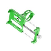 Držák na kolo GUB G-85 pro Apple iPhone - univerzální - pevný - hliník - zelený
