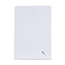 Pouzdro REMAX pro Apple iPad Air 2 - variabilní stojánek, funkce chytrého uspání - bílé