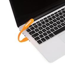 Designová mini USB LED lampička / světlo - oranžová