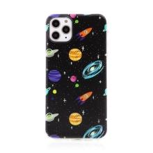 Kryt pro Apple iPhone 11 Pro Max - gumový - vesmírné objekty