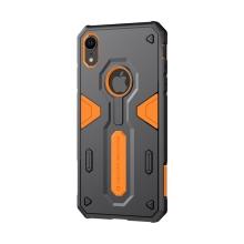 Kryt Nillkin pro Apple iPhone Xr - odolný - plast / guma - oranžový / černý