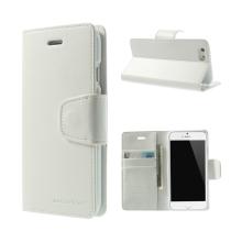 Pouzdro Mercury Sonata Diary pro Apple iPhone 6 Plus / 6S Plus - stojánek a prostor na osobní doklady - bílé