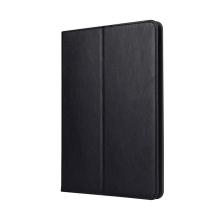 """Pouzdro pro Apple iPad Pro 10,5"""" / Air 10,5"""" (2019) - stojánek, prostor pro platební karty, pásek na ruku - černé"""
