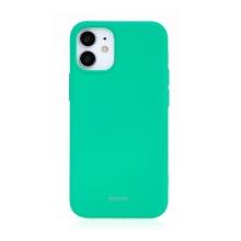 Kryt ROAR pro Apple iPhone 12 mini - gumový - mátově zelený