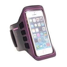 Sportovní pouzdro pro Apple iPhone 5 / 5C / 5S / SE - černo-růžové