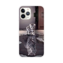 Kryt pro Apple iPhone 11 Pro Max - gumový - odraz tygra