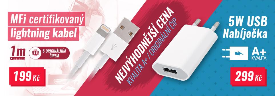 Mfi kabel + Adaptér