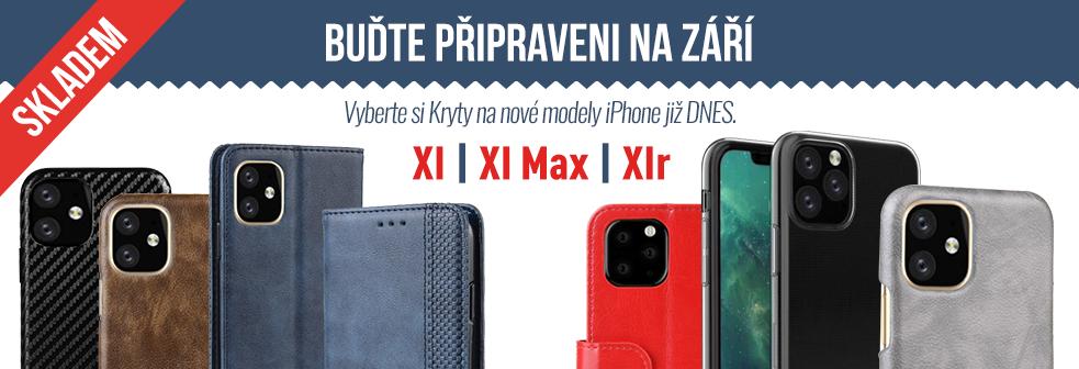 Nové kryty XI, XI Max, XIr