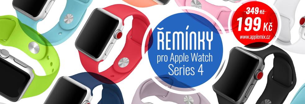Řemínky pro Apple Watch 4