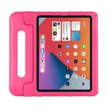 """Pouzdro pro děti pro Apple iPad Air 4 (10,9"""") - rukojeť / stojánek - pěnové - růžové"""