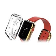 Gumové pouzdro pro Apple Watch 38mm (tl. 0,8mm) - průhledné