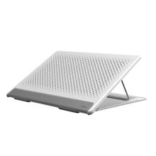 """Stojánek / podložka BASEUS pro Apple MacBook (velikosti 11 - 16"""") - nastavitelný - bílý"""