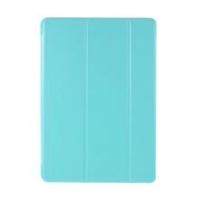 """Pouzdro / kryt pro Apple iPad 10,2"""" (2019 - 2021) - funkce chytrého uspání - gumové - světle modré"""