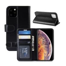 Pouzdro pro Apple iPhone 11 Pro - prostor pro platební karty - umělá kůže - černé