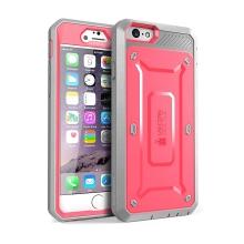 Pouzdro / kryt SUPCASE pro Apple iPhone 6 / 6S - outdoor / odolné - růžové