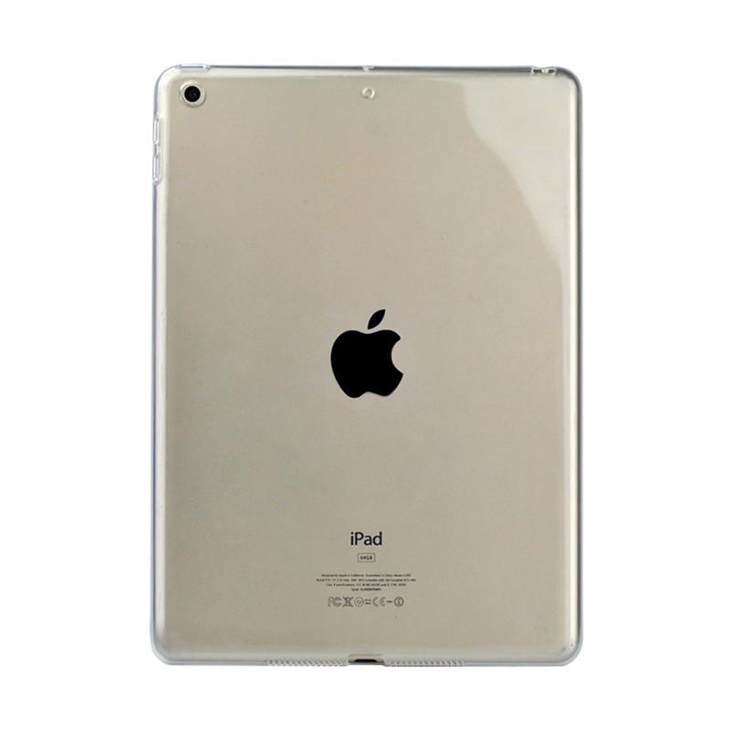 Kryt / obal pro Apple iPad 9,7 (2017-2018) - gumový - tenký - průhledný