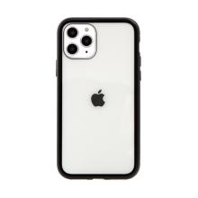 Kryt pro Apple iPhone 12 / 12 Pro - magnetické uchycení - skleněný / kovový - černý