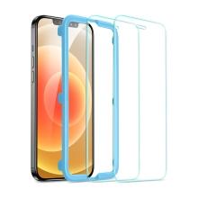 Tvrzené sklo (Tempered Glass) ESR pro Apple iPhone 12 Pro Max - přední - 2,5D - čiré - 0,3mm - 2 kusy