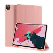 Pouzdro DUX DUCIS Domo pro Apple iPad Pro 12,9 (2018) / 12,9 (2020) - stojánek - růžové
