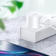 Nabíječka / adaptér USAMS - 2x USB (2,1A) - kulaté provedení - bílá