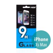 Tvrzené sklo (Tempered Glass) pro Apple iPhone Xs Max - na přední stranu - 0,33mm