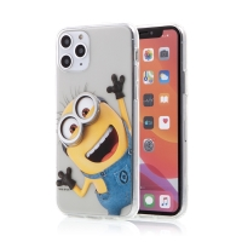 Kryt MIMONI pro Apple iPhone 11 Pro - gumový - smějící se mimoň
