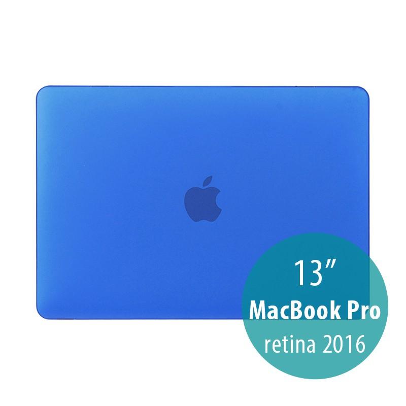 Obal / kryt pro MacBook Pro 13 Retina 2016 / 2017 (A1706, A1708) - plastový - modrý