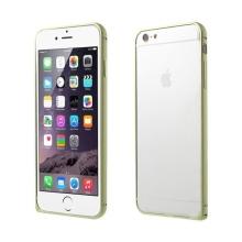 Tenký hliníkový rámeček / bumper LOVE MEI pro Apple iPhone 6 - zelený