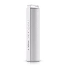 Externí baterie / power bank CAGER - 2600 mAh - USB 1A - bílá