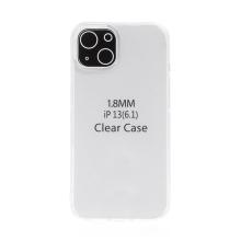 Kryt pro Apple iPhone 13 - gumový - průhledný