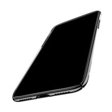 Kryt BASEUS pro Apple iPhone X - plastový - průhledný / černý