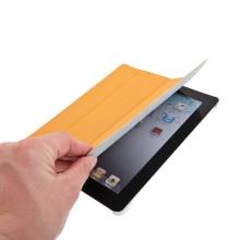Ochranné pouzdro pro Apple iPad 2. / 3. / 4.gen. - pouzdro + stojan + Smart Cover - oranžové